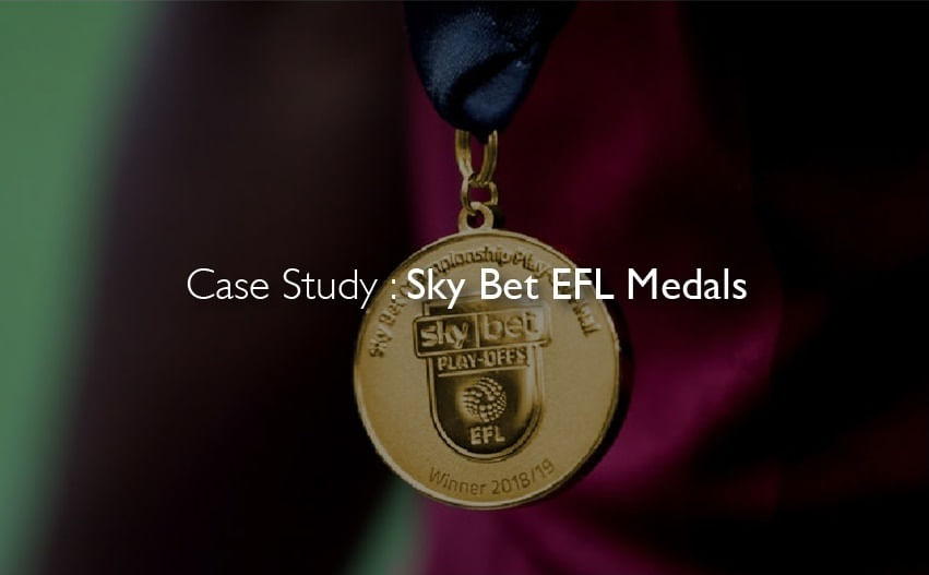 Case Study : Sky Bet EFL Medals