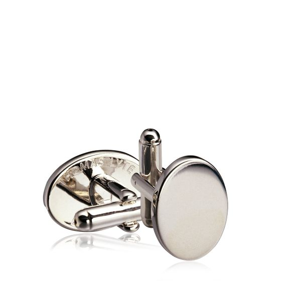 Oval-Cufflink-Silver-Plate-Front-Base