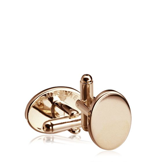 Oval-Cufflink-Gold-Plate-Front-Base