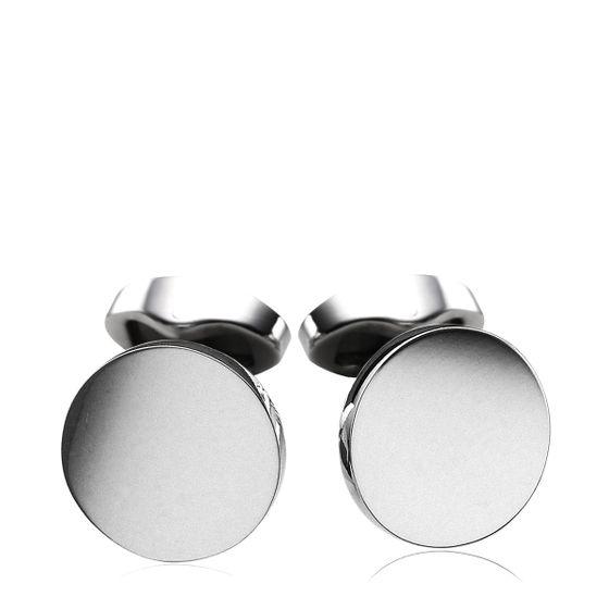 Round-Silver-Cufflinks-2A
