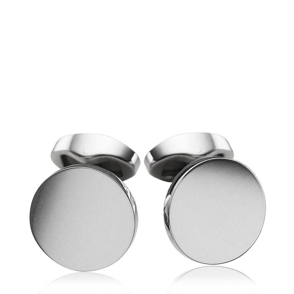 Personalised Deep Engraved Silver Cufflinks |Silver Cufflinks