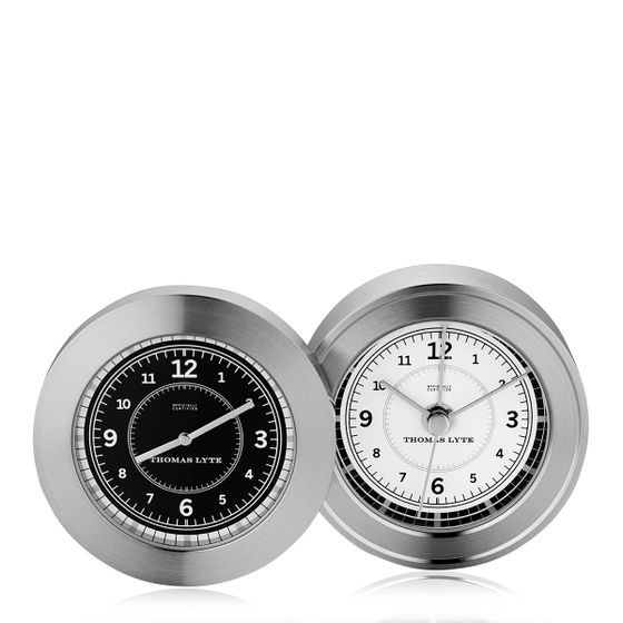 Wells-Dual-Clock-Silver-Plate-Base