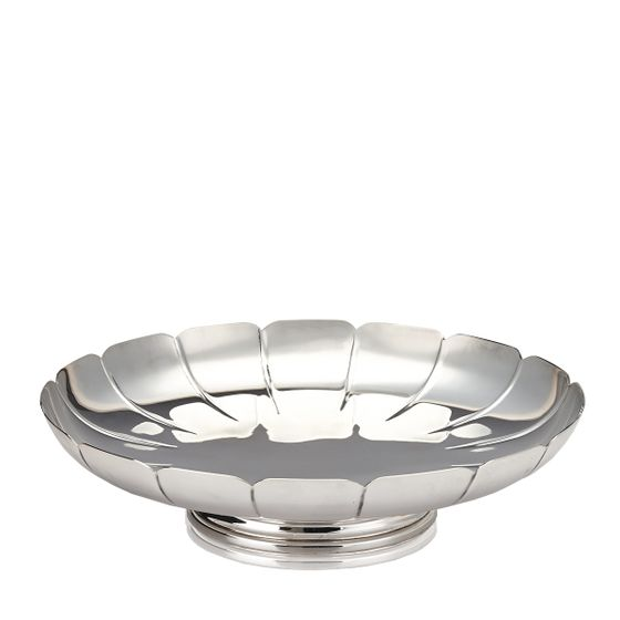 Fluted-Dish-Silver-Plate-Base