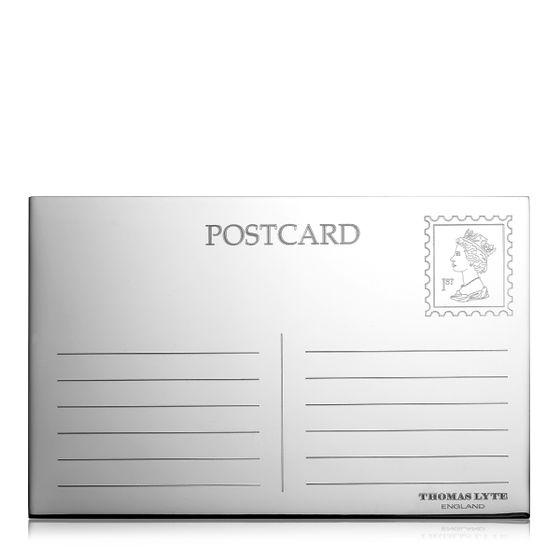 Postcard-Silver-Plate-Base