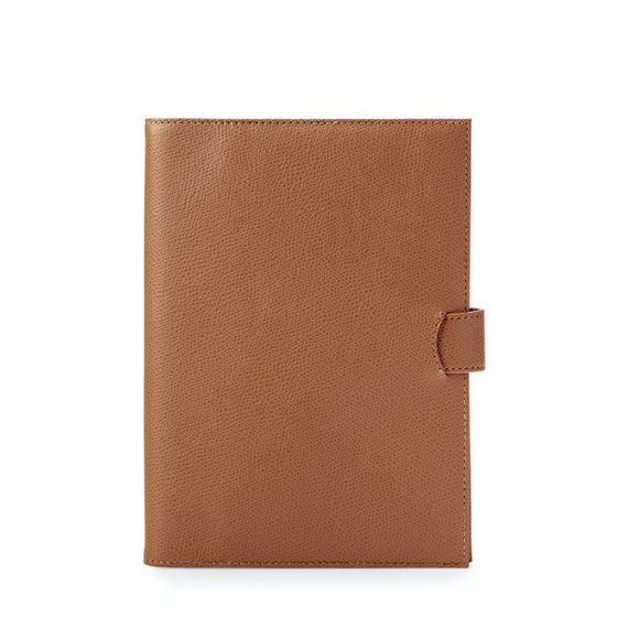 A5-Removable-Journal-Grained-Cognac-Front