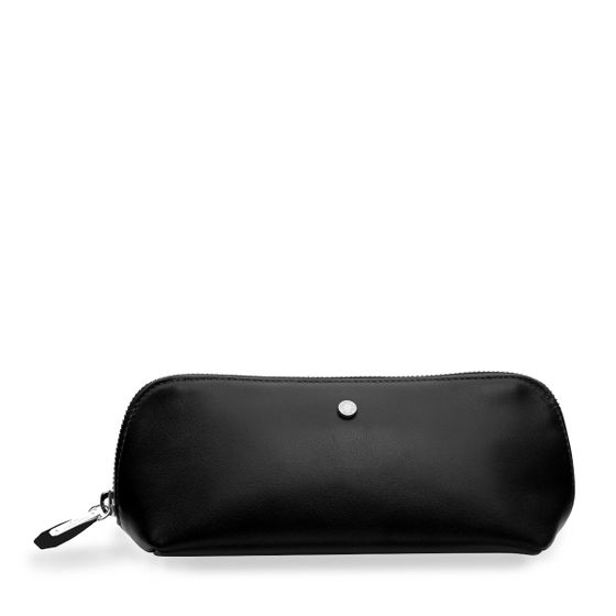 Cosmetic-Pencil-Case-Black-Front-Base
