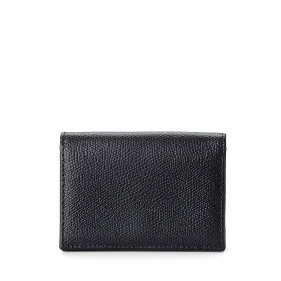 Business-Card-Case-Grained-Leather-Black-Front-Base