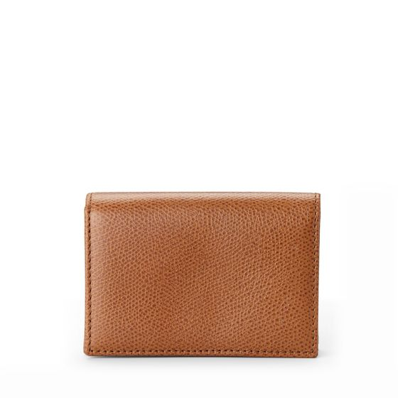Business-Card-Case-Grained-Leather-Cognac-Front-Base-1