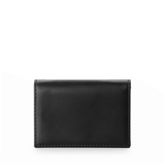 Business-Card-Case-Bridle-Leather-Black-Front-Base-1