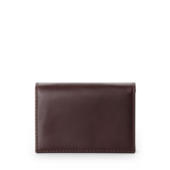 Business-Card-Case-Bridle-Leather-Chocolate-Front-Base