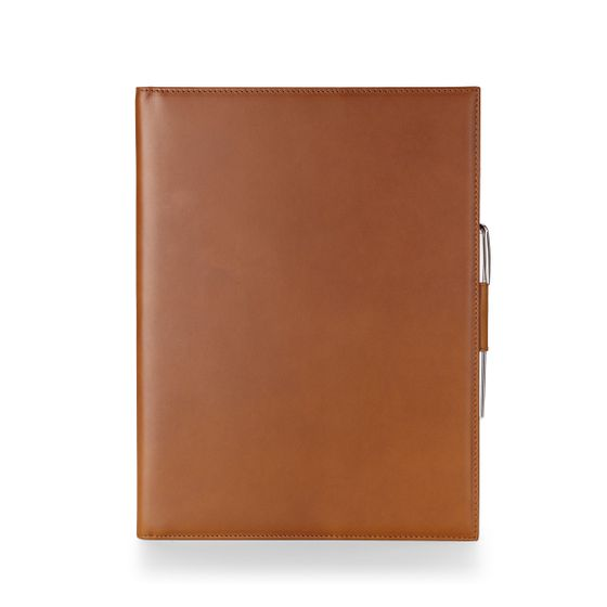 A4-Folio-Bridle-Leather-Tan-Front-Base