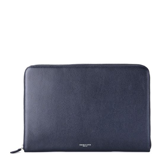 Zip-Around-Folio-Grained-Leather-Petrol-Base-1