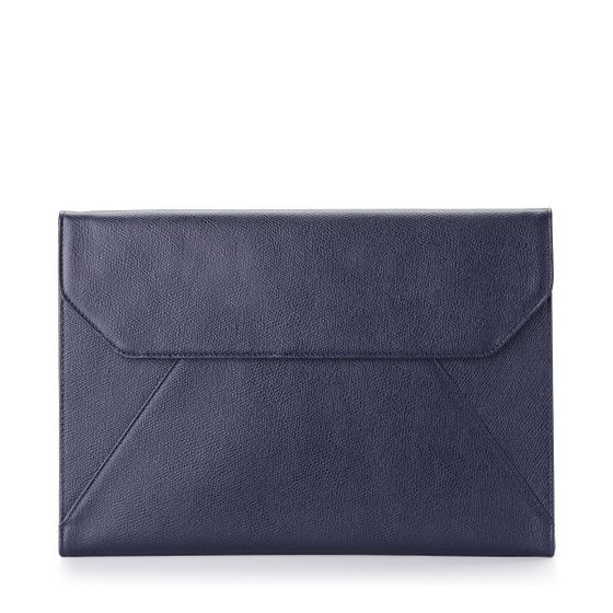 Envelope-Folio-Grained-Leather-Petrol-Front-Base