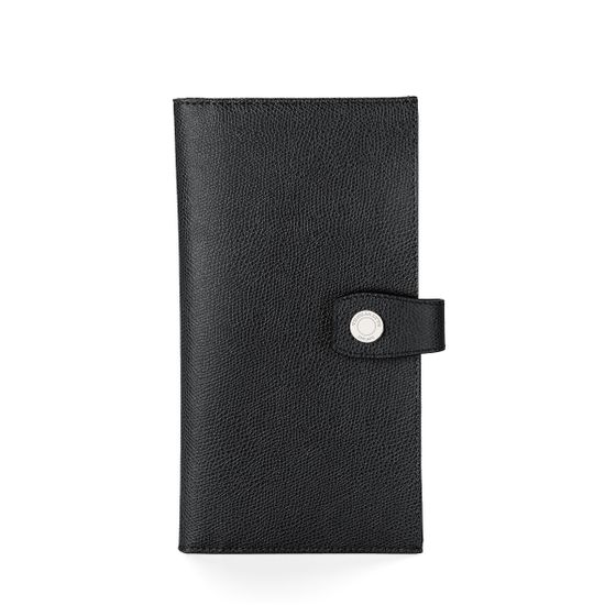 Travel-Wallet-With-Tab-Grained-Leather-Black-Front-Base
