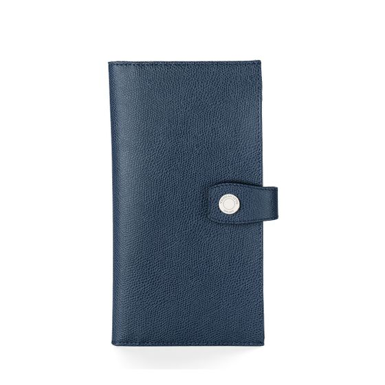 Travel-Wallet-With-Tab-Grained-Leather-Petrol-Front-Base