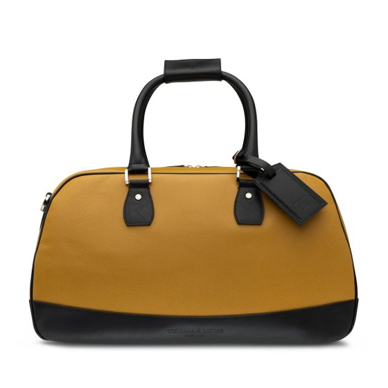 Kenley-Bag-Grained-Leather-Mustard-With-Black-Contrast-Front-Base