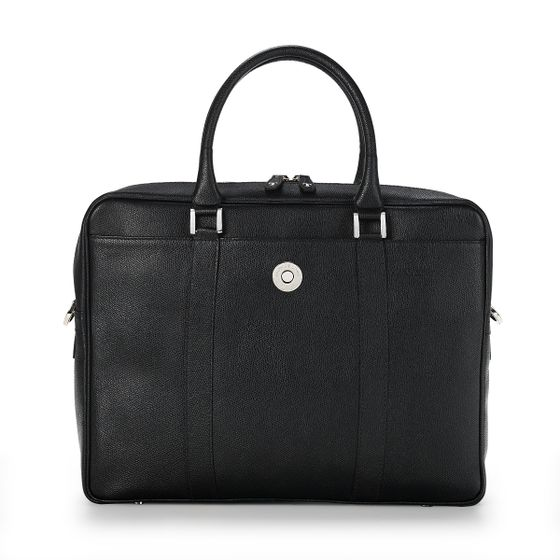 Albemarle-Executive-Bag-Grained-Leather-Black-Front-Base
