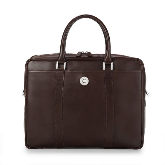 Albemarle-Executive-Bag-Bridle-Leather-Chocolate-Front-Base-1