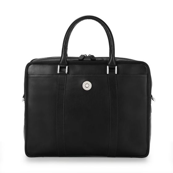 Albemarle-Executive-Bag-Bridle-Leather-Black-Front-Base