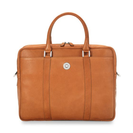 Albemarle-Executive-Bag-Natural-Leather-Tan-Front-Base-2