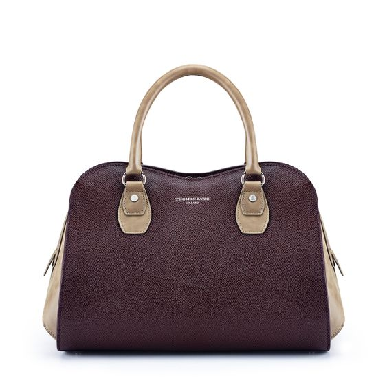 Danvers-Grained-Leather-Burgundy-Front-Base
