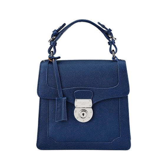 Audrey-Bag-Grained-Leather-Petrol-Front-Base-1