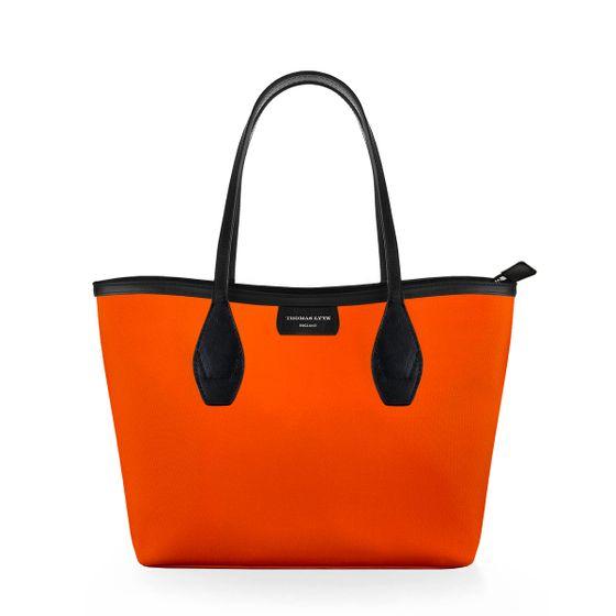 Lottie-Tote-Nylon-Tangerine-W-Zip