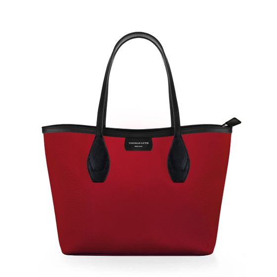 Lottie-Tote-Nylon-Cranberry-W-Zip