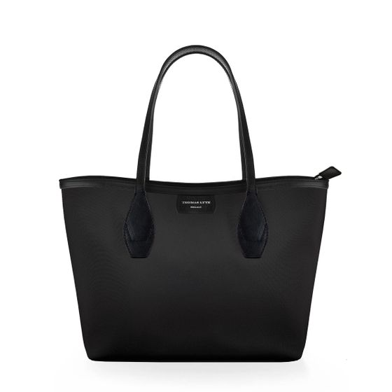 Lottie-Tote-Nylon-Black-W-Zip
