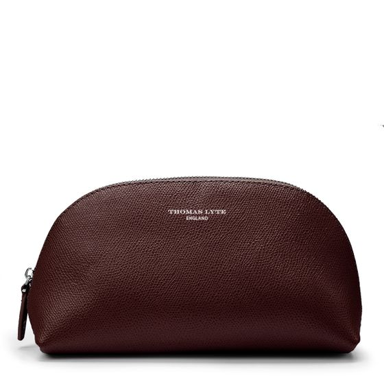 Moon-Cosmetics-Case-Burgundy-Grain-Front-Base