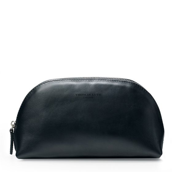 Moon-Cosmetics-Bag-Smooth-Black-Front-Base