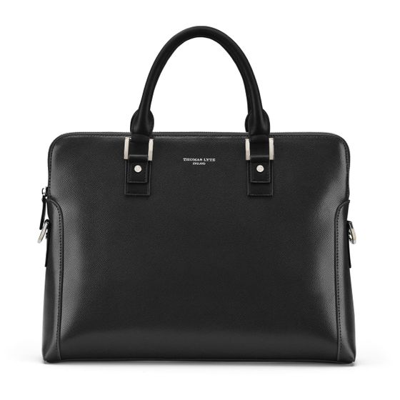 Burlington-Business-Bag-Grained-Leather-Black-Base