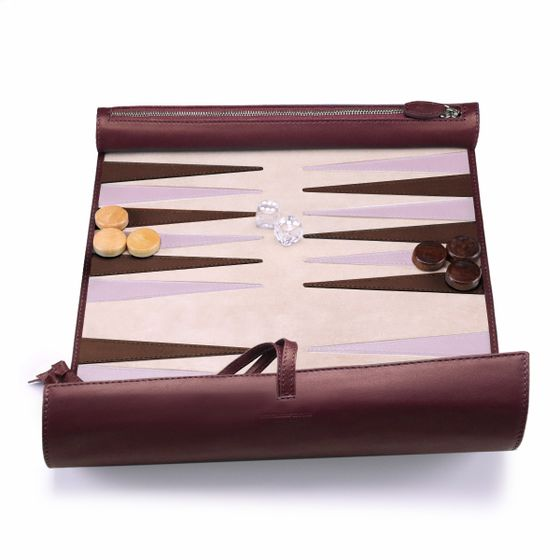 Backgammon-Roll-Smooth-Leather-Plum-Open-Base