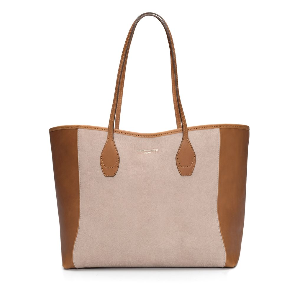 1ba9be20e99f Olivia Tote Bag Smooth Leather Sandalwood   Tan