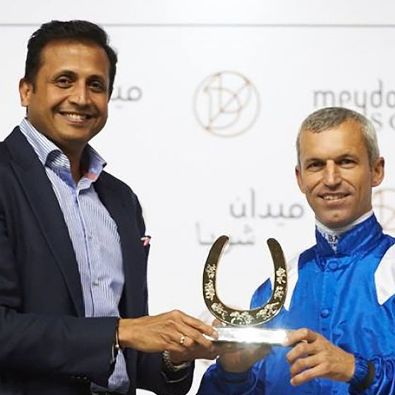 Designers-and-Makers-of-The-Dubai-Racing-Club-Winning-Trainer-and-Jockey-Award