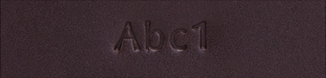 Embossing Options